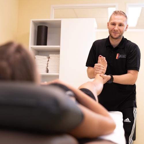 Physiotherapie Nürnberg Eibach - Gindler - Behandlung in unserer Praxis