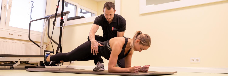 Physiotherapie Nürnberg Eibach - Gindler - Übungen in unserer Praxis