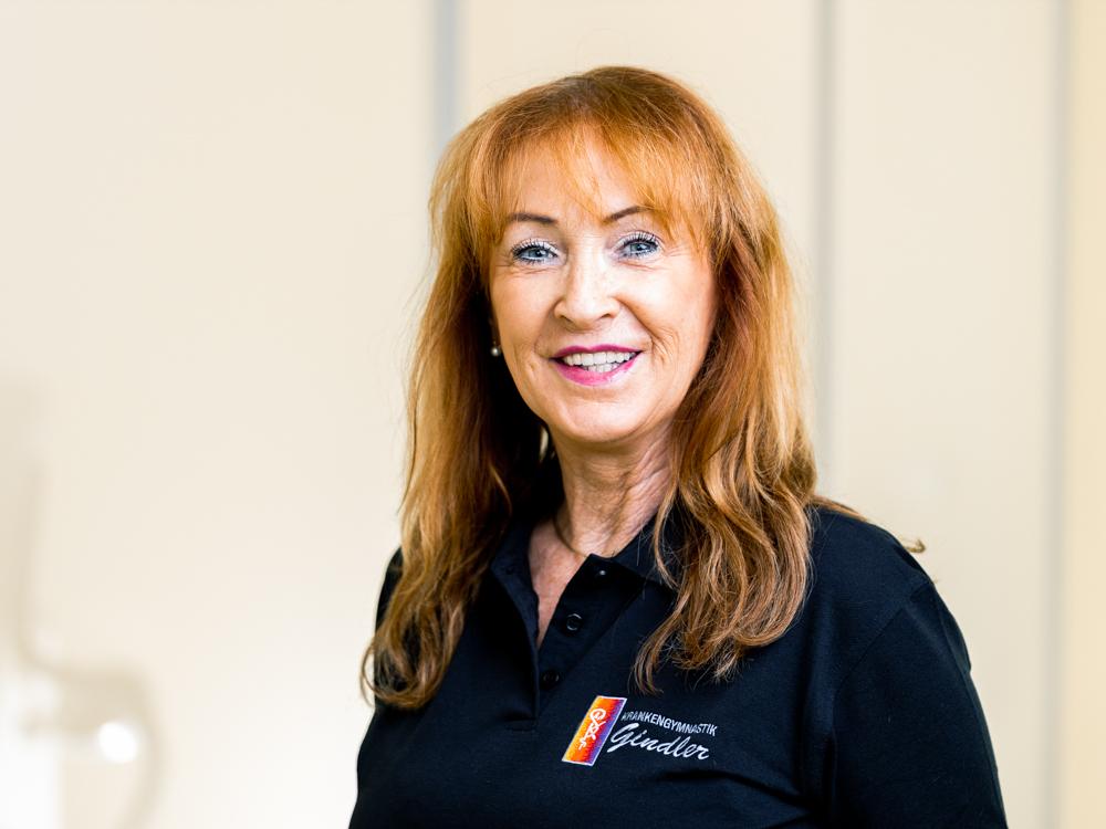 Physiotherapie Nürnberg Eibach - Team - Portrait von Claudia Weyhofen