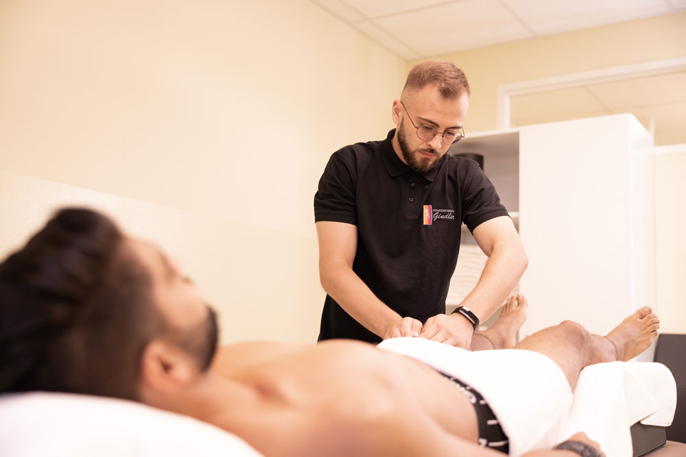 Physiotherapie Nürnberg Eibach - Gindler - Lymphdrainage